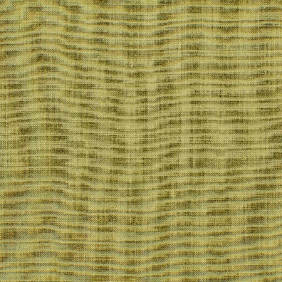 LINEN, WOOL AND CASHMERE SOLIDS Light Linen Fabric - Peapod