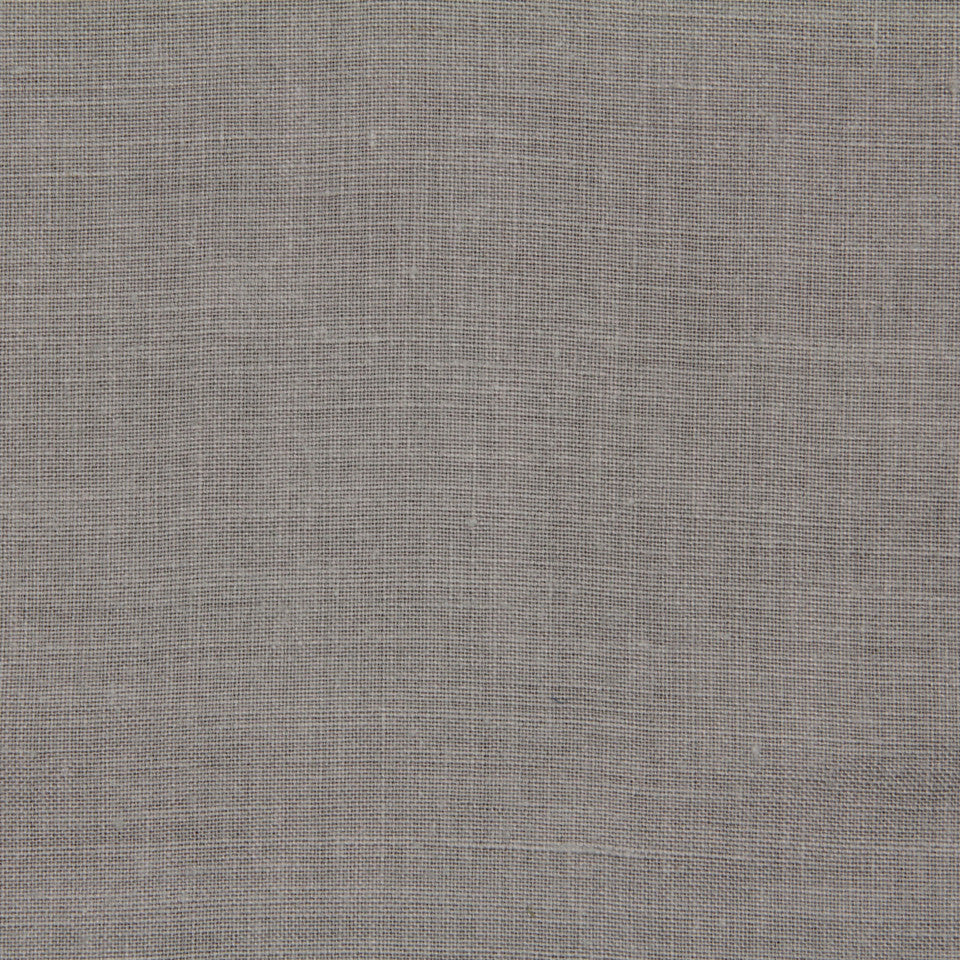 LINEN, WOOL AND CASHMERE SOLIDS Light Linen Fabric - Gray
