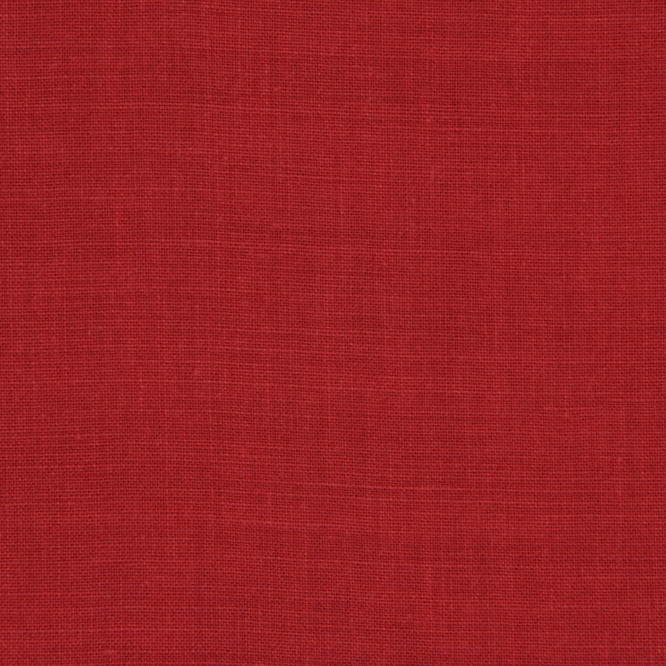 LINEN, WOOL AND CASHMERE SOLIDS Light Linen Fabric - Red Apple