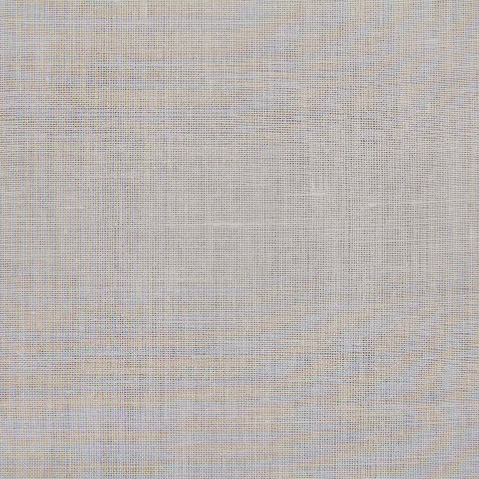 LINEN, WOOL AND CASHMERE SOLIDS Light Linen Fabric - Silver