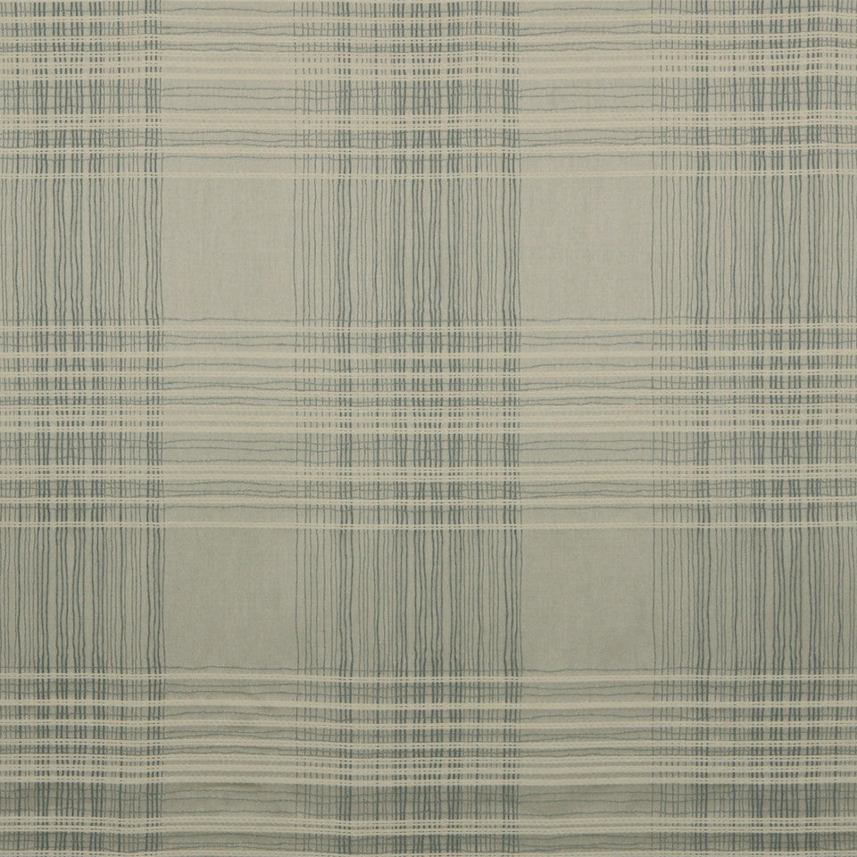 RUSTIC STRIPES AND PLAIDS MP Birch Plaid Fabric - Pewter