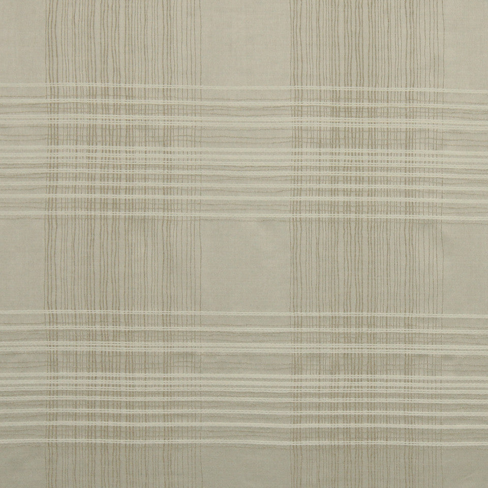 RUSTIC STRIPES AND PLAIDS MP Birch Plaid Fabric - Linen
