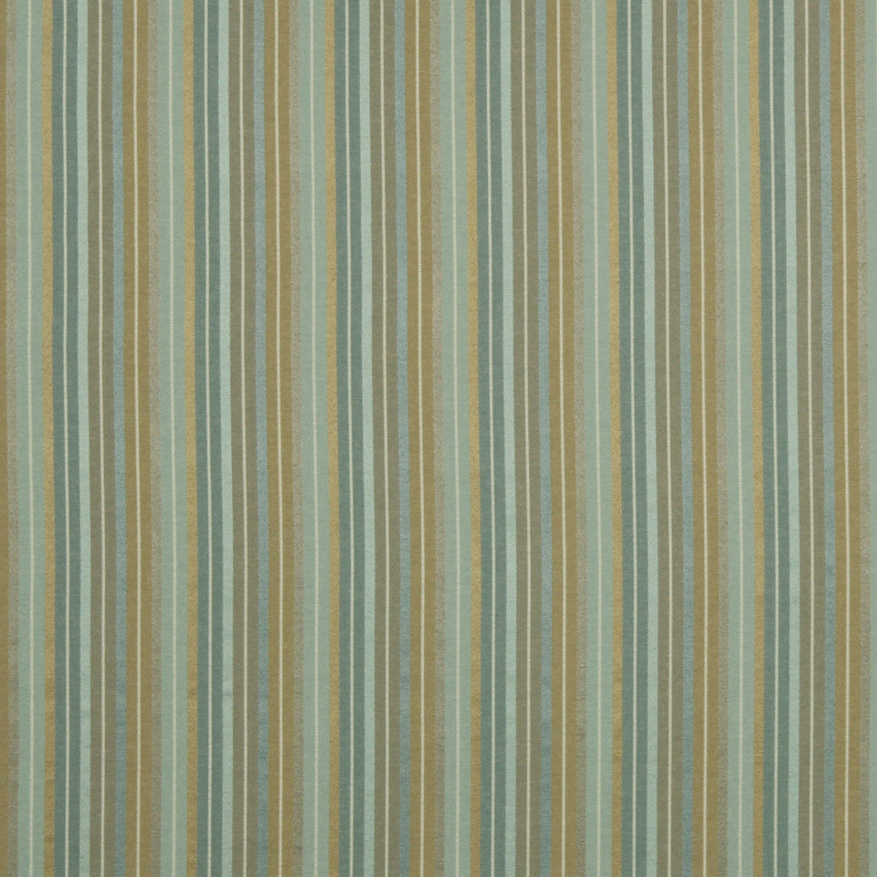 COOL Shiny Stripe Fabric - Mint