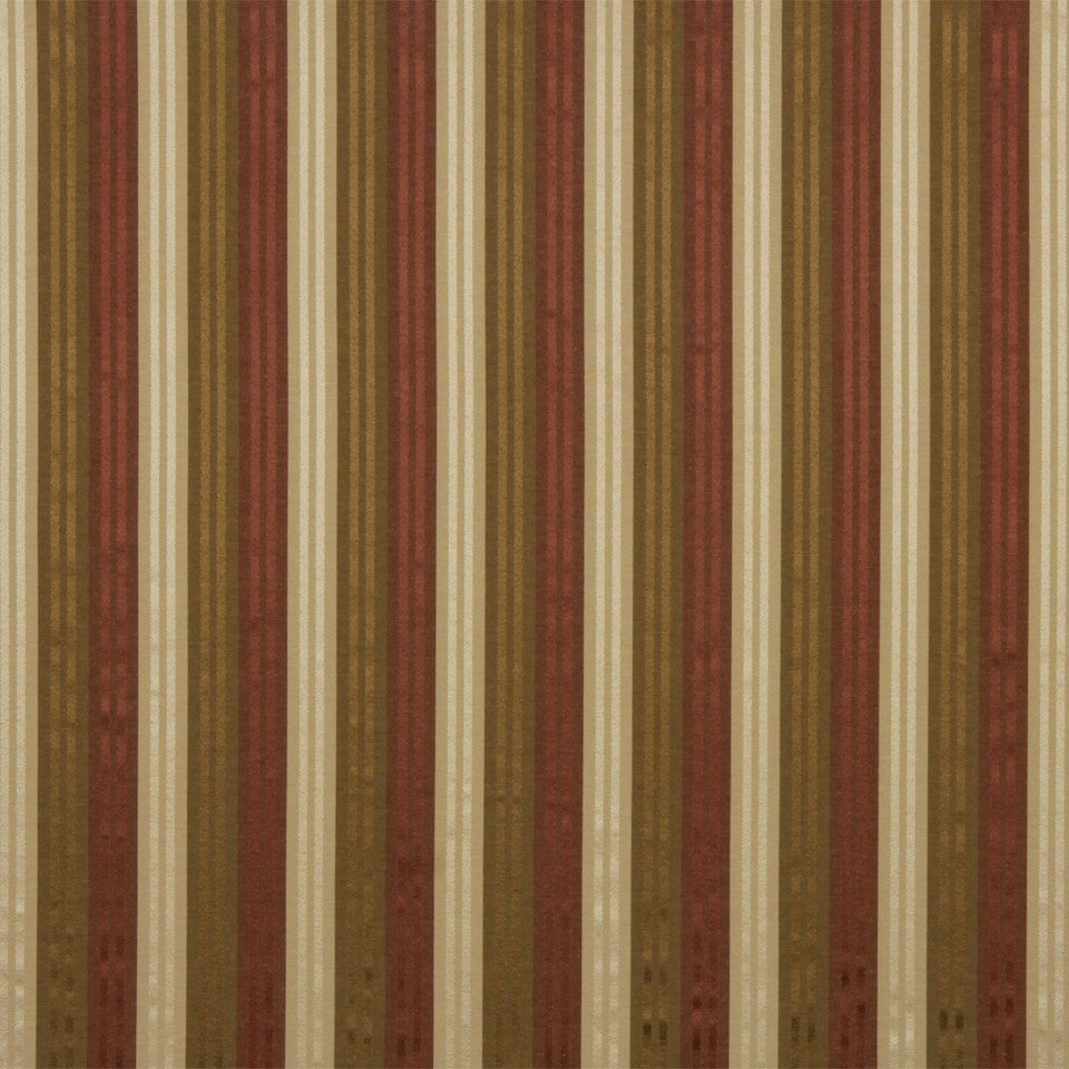 WARM Radiant Stripe Fabric - Spice
