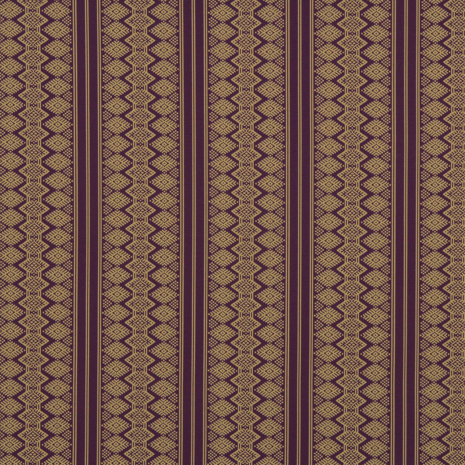 ORCHID-MANDARIN-WHIRLPOOL Aztec Pathway Fabric - Orchid