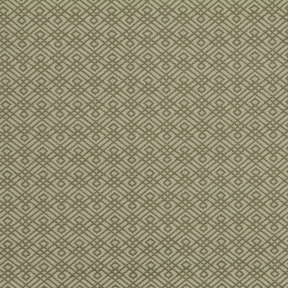 MODERN Walking Maze Fabric - Sandstone