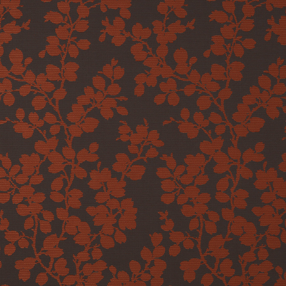 MODERN III Apple Tree Fabric - Pomodoro