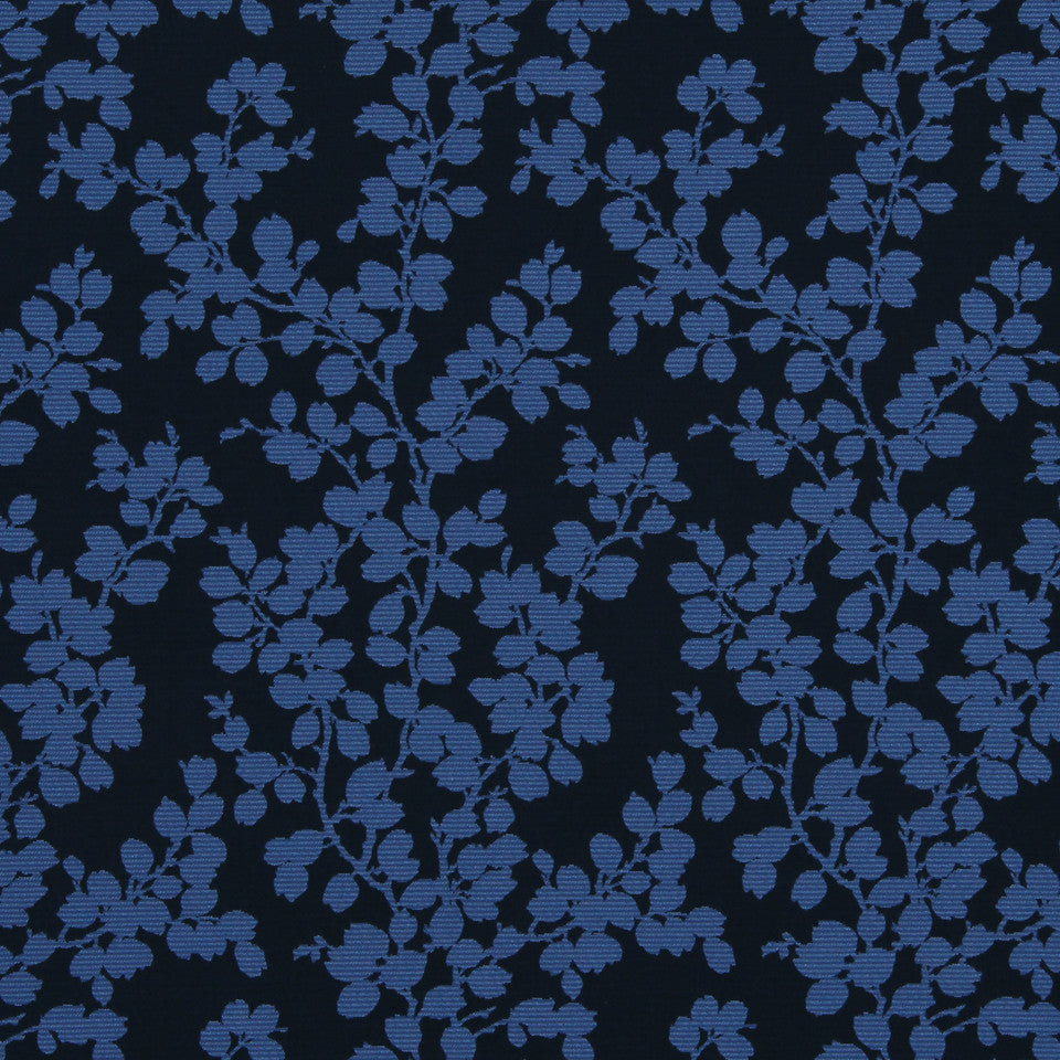 MODERN Apple Tree Fabric - Sapphire