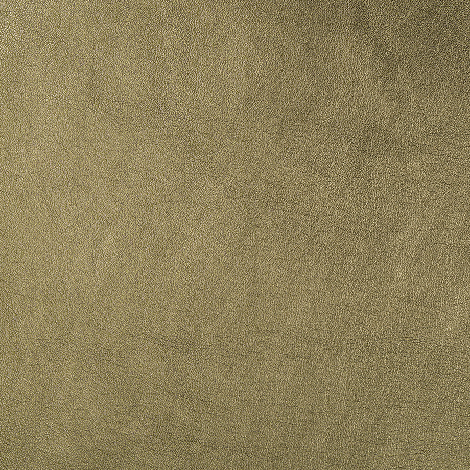Faux Leather Textures Shimmer Solid Fabric - Bronze