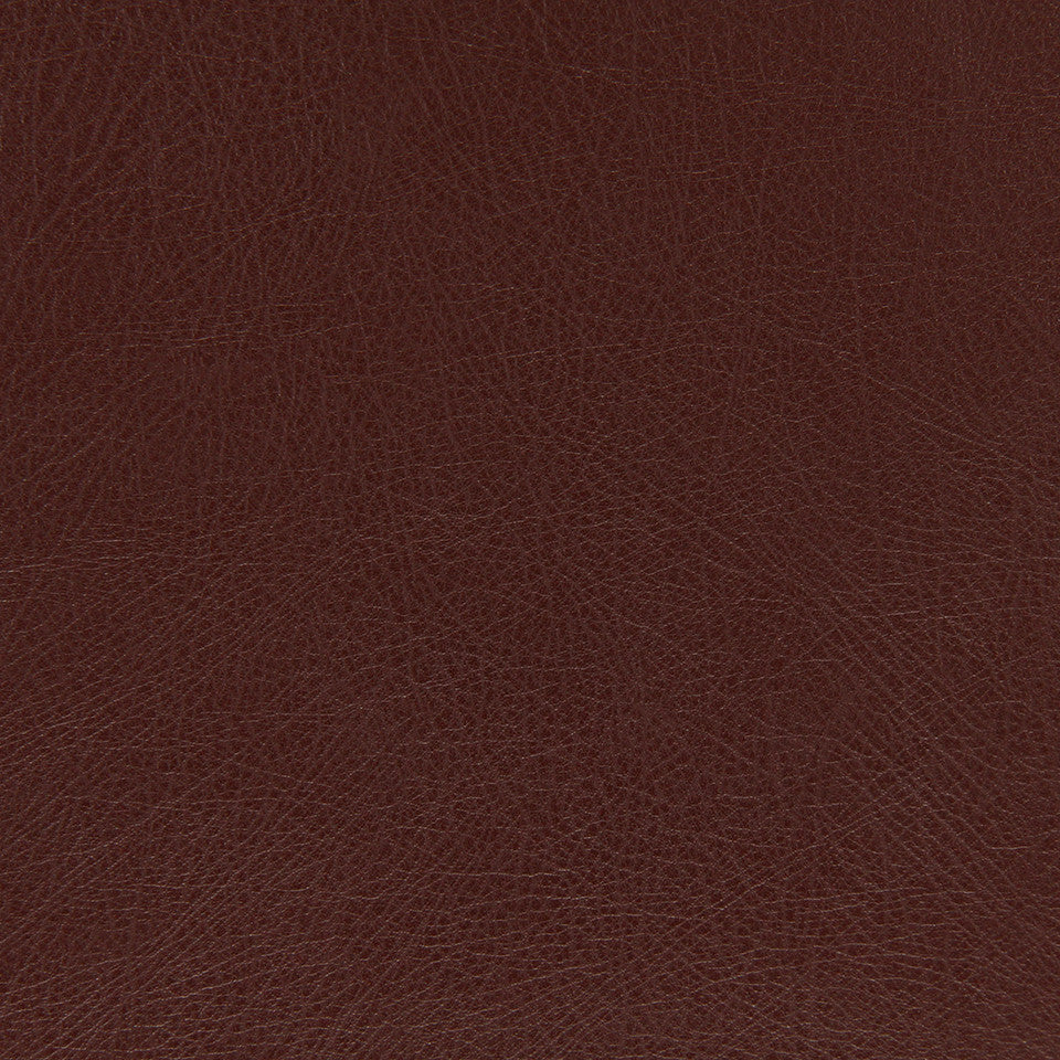 FAUX LEATHER II Brutus Fabric - Mahogany
