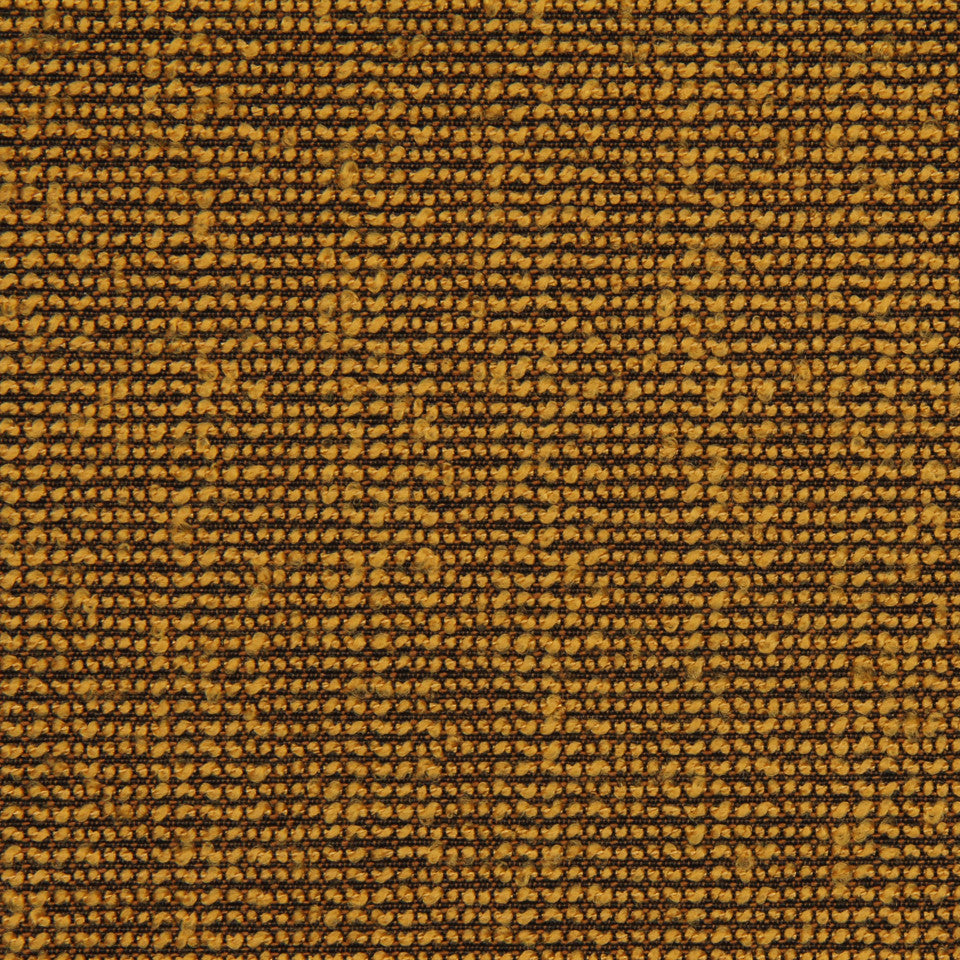 MODERN Boucle Solid Fabric - Mustard