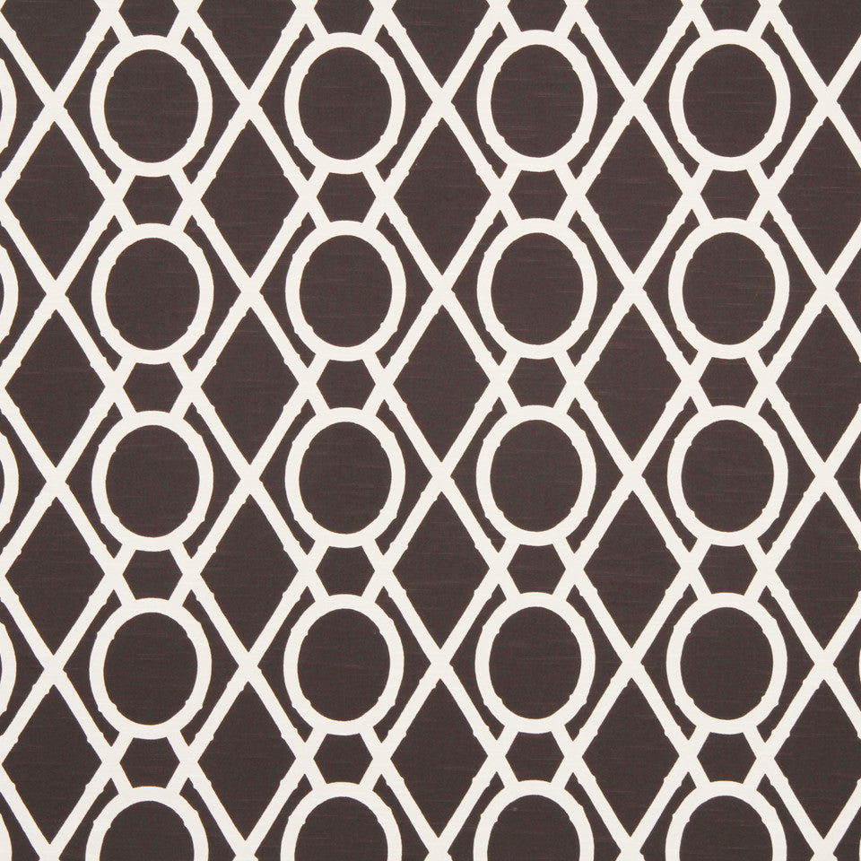 Lattice Bamboo Fabric - Terrain