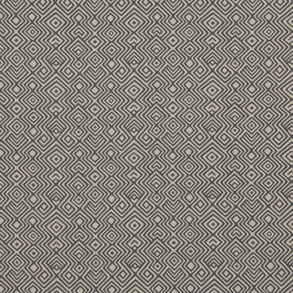 DWELLSTUDIO GLOBAL MODERN LUXE Asha Fabric - Mineral