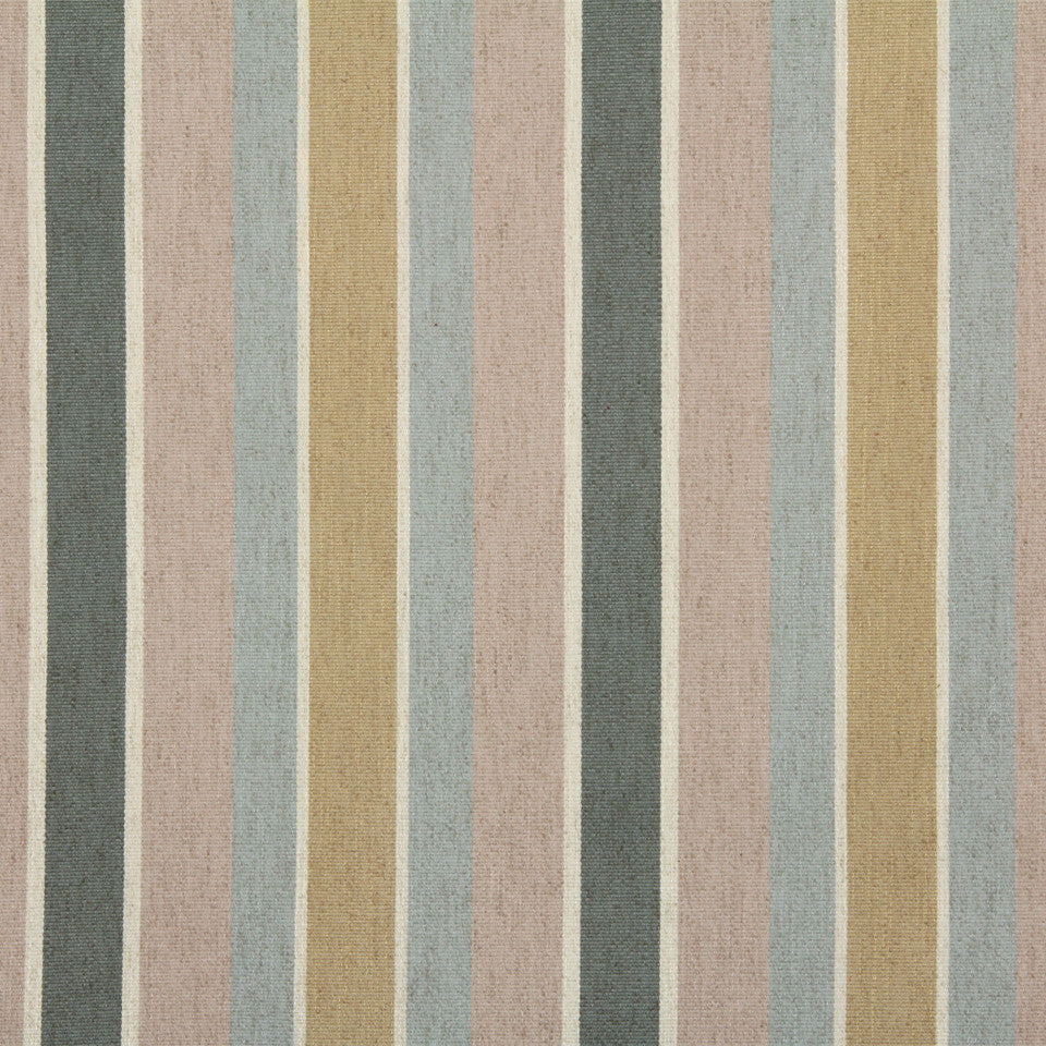 DWELLSTUDIO GLOBAL MODERN LUXE Shifted Stripe Fabric - Blush