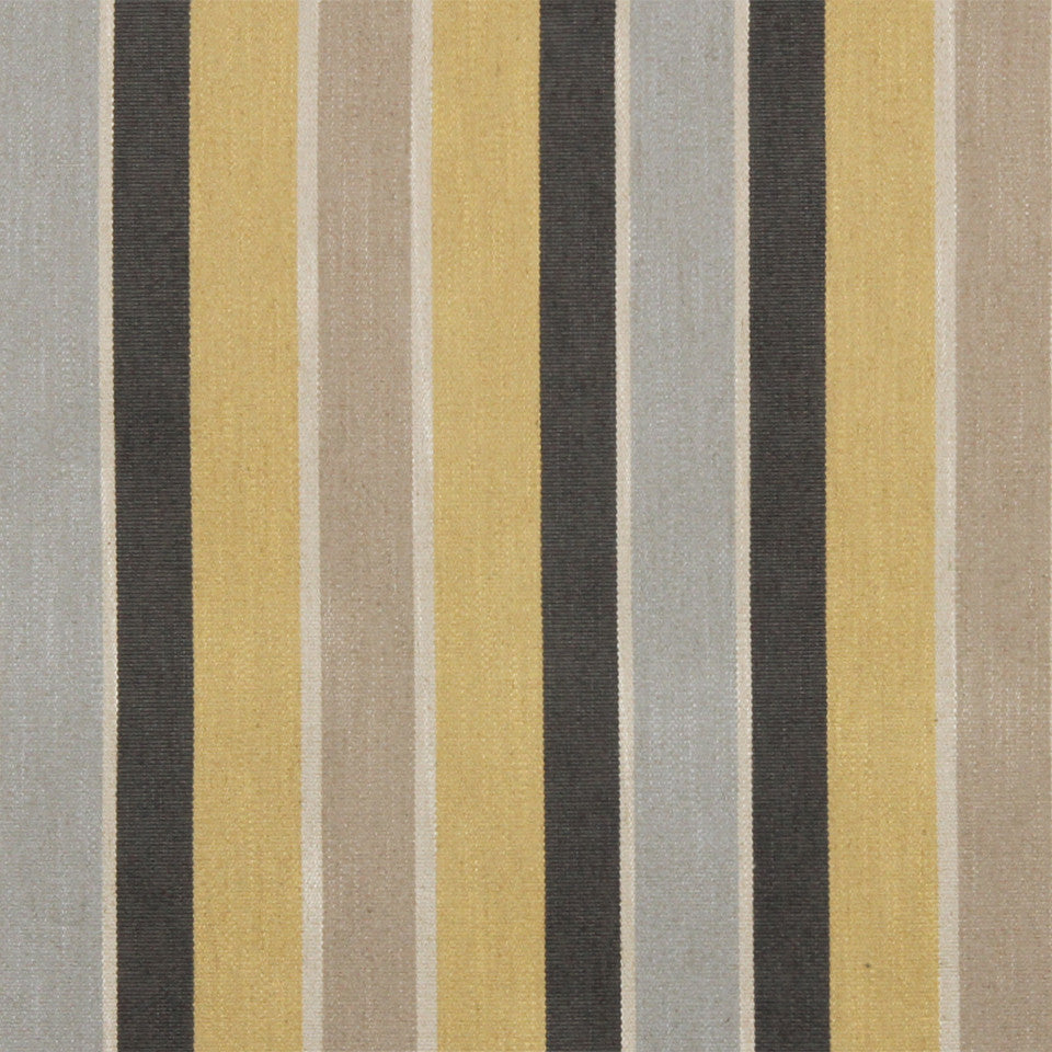 DWELLSTUDIO GLOBAL MODERN LUXE Shifted Stripe Fabric - Citrine