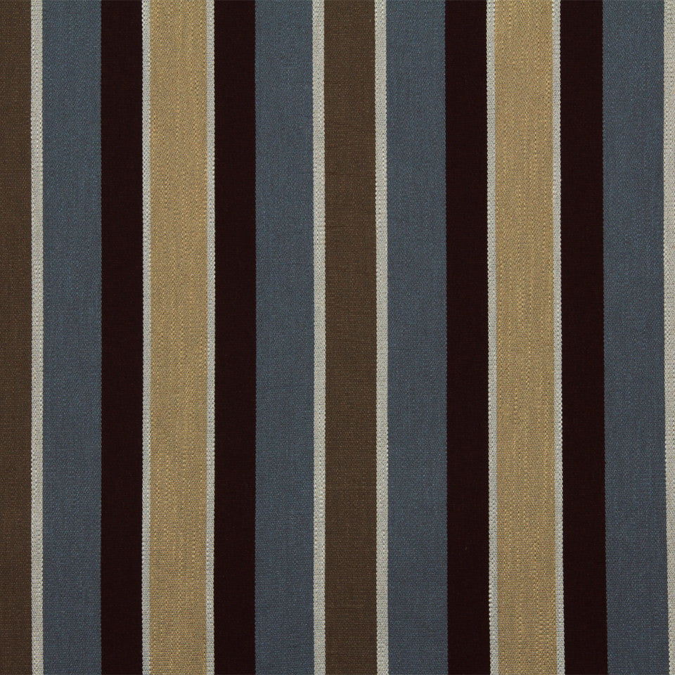 DWELLSTUDIO GLOBAL MODERN LUXE Shifted Stripe Fabric - Mineral