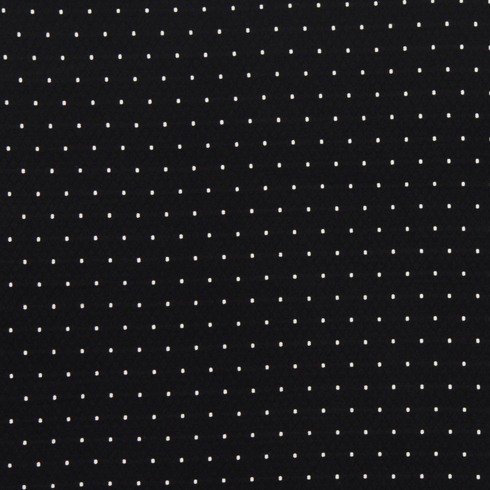 MATELASSES Diamas Dot Fabric - Domino
