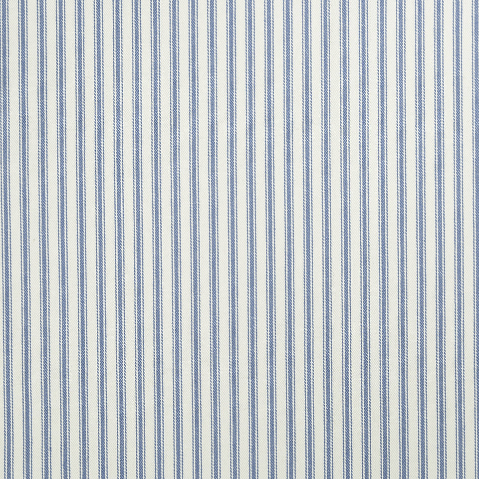 COLOR LIBRARY MULTI-PURPOSE: WATER-COBALT-SPRING GRASS New Ticking Fabric - Wave