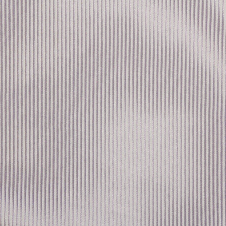 TICKING STRIPES New Ticking Fabric - Violet