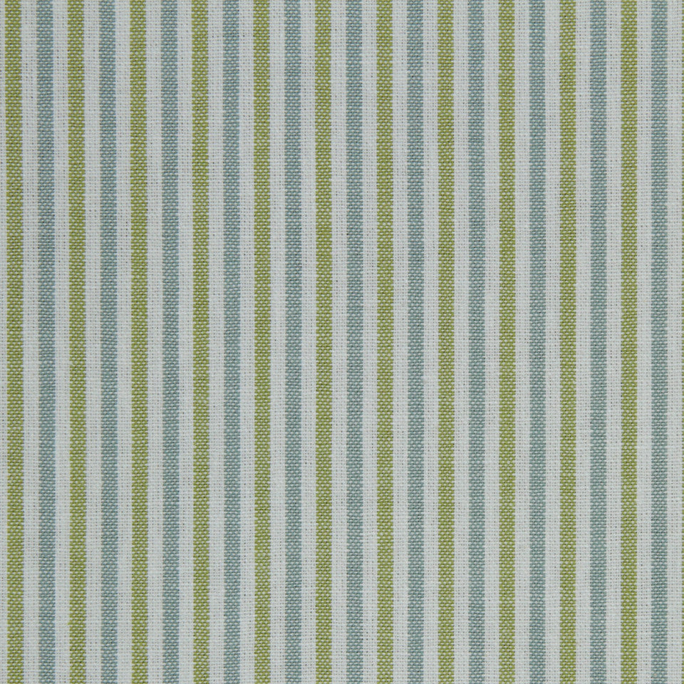 COVE Classic Lines Fabric - Blue Green