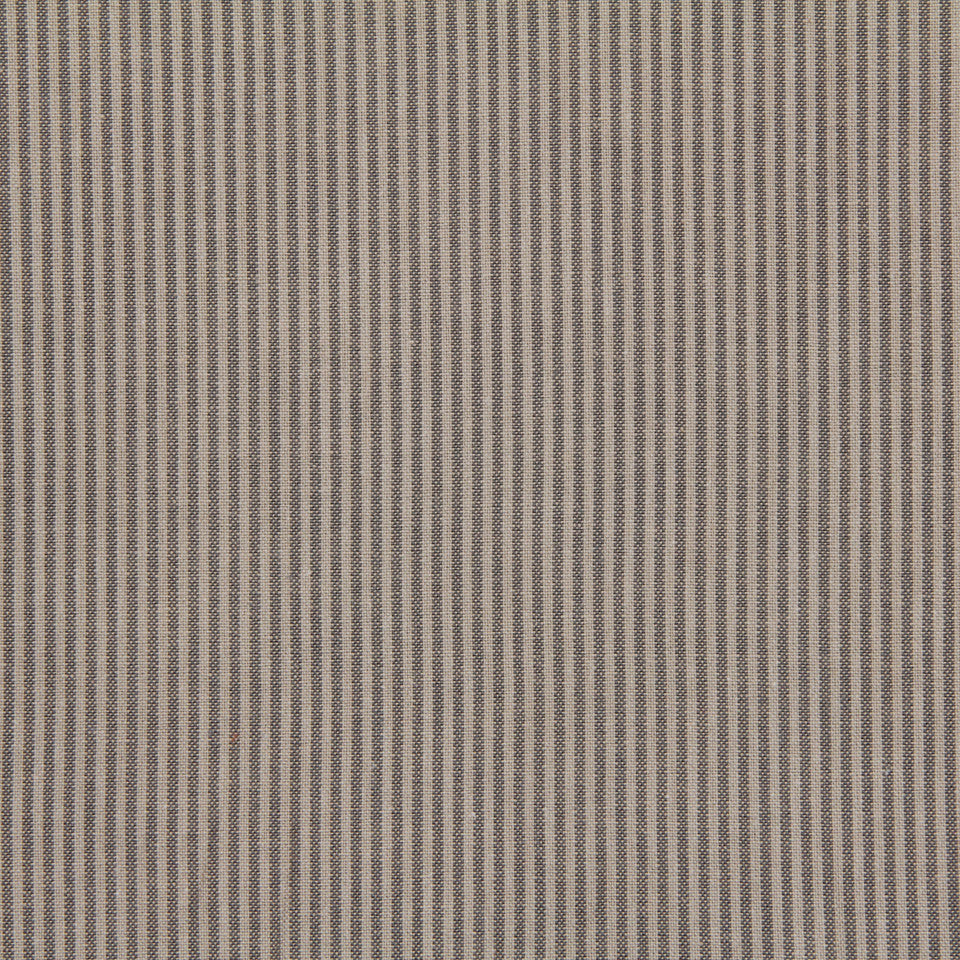 TICKING STRIPES Oxford Unquilt Fabric - Taupe