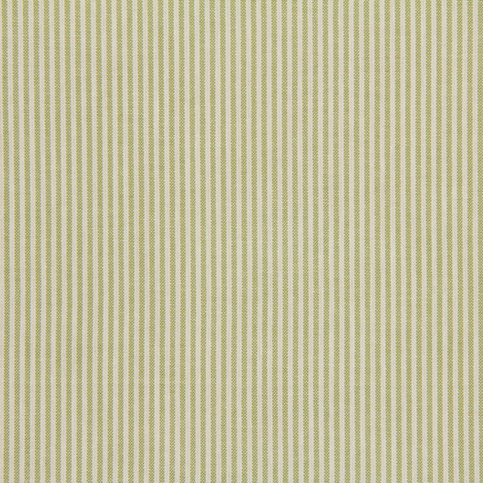 TICKING STRIPES Oxford Unquilt Fabric - Meadow