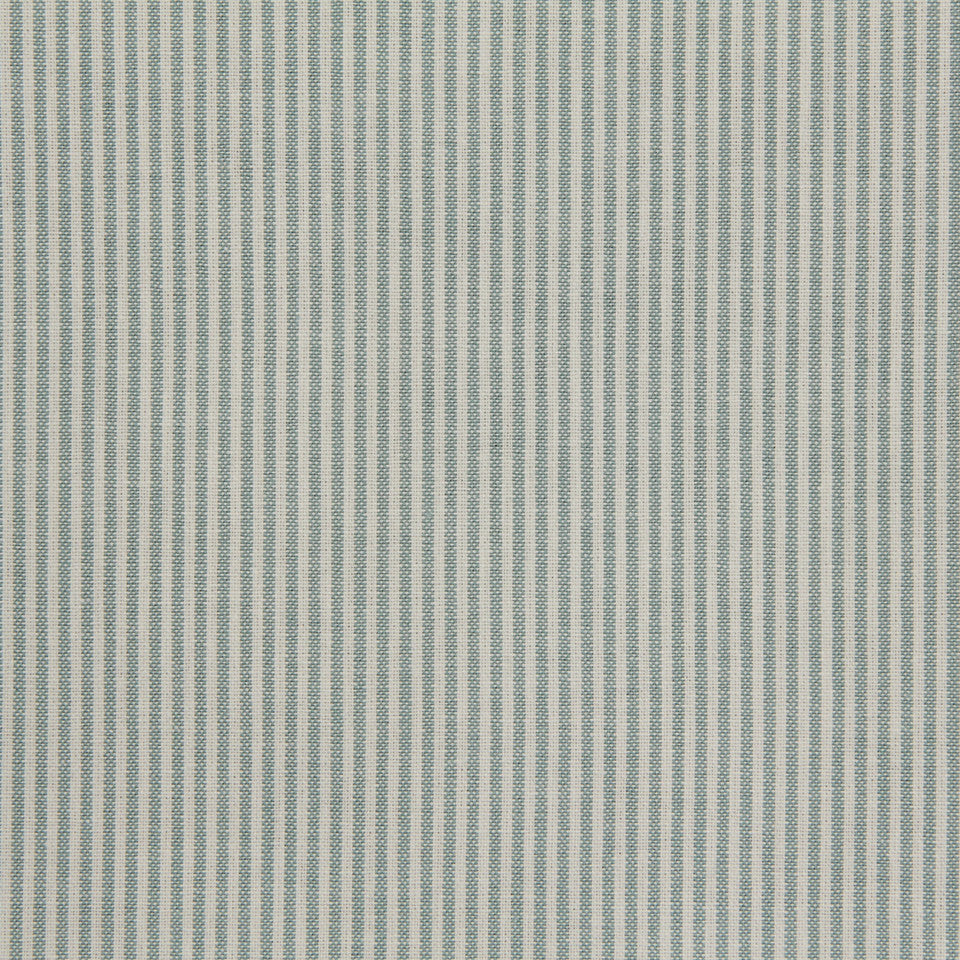 TICKING STRIPES Oxford Unquilt Fabric - Spearmint