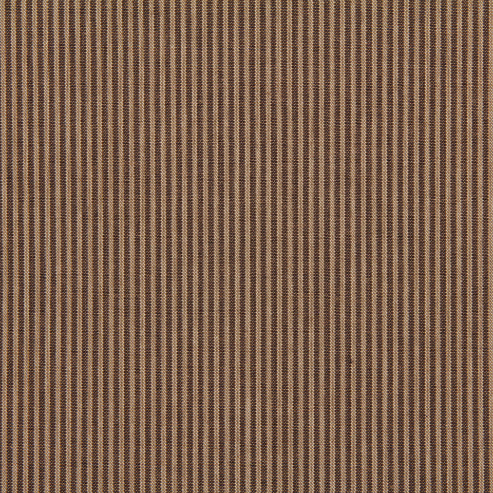 TICKING STRIPES Oxford Unquilt Fabric - Terrain