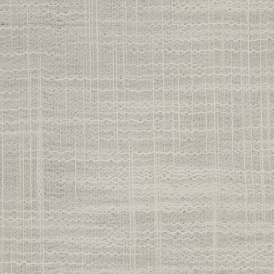 DRAPEABLE LINEN LOOKS Korinthos Fabric - Snow
