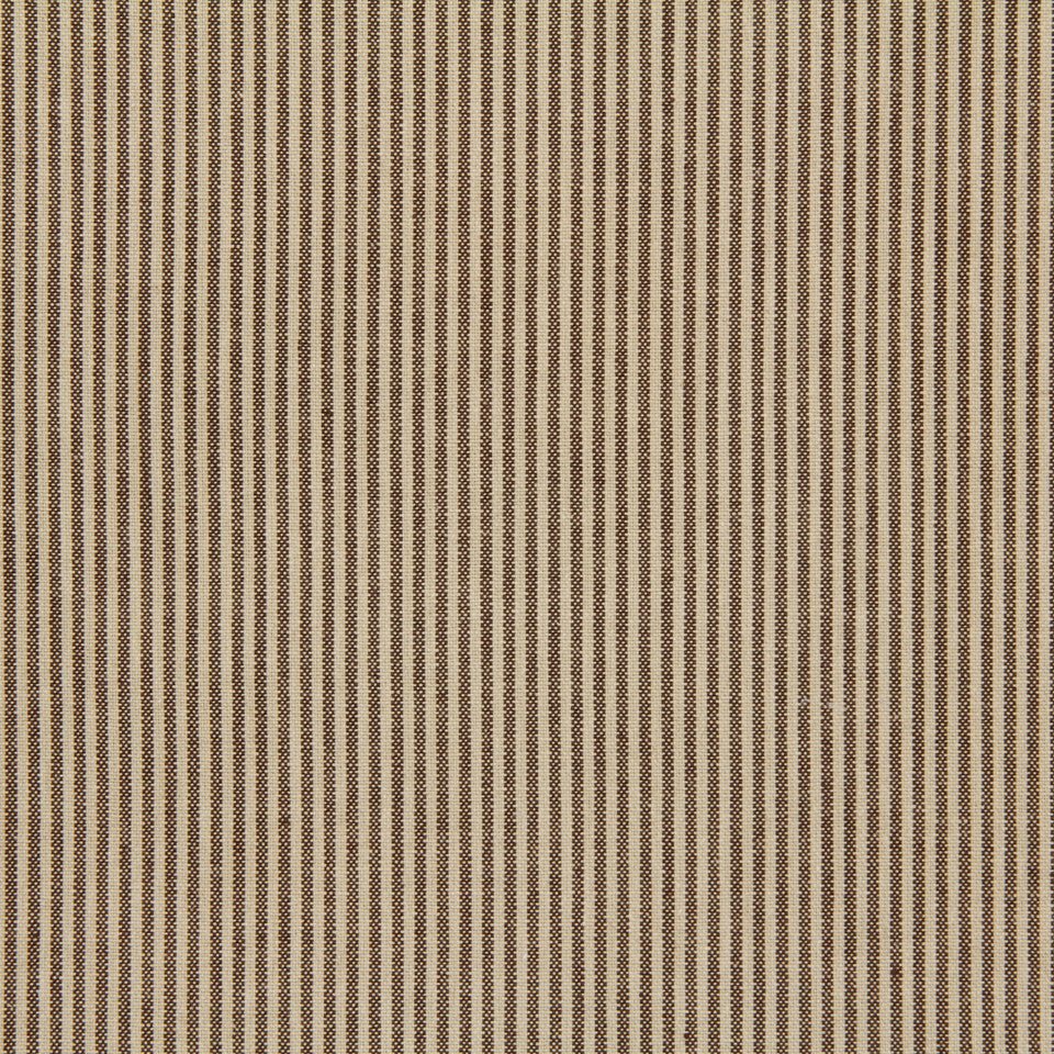 TICKING STRIPES Oxford Unquilt Fabric - Java
