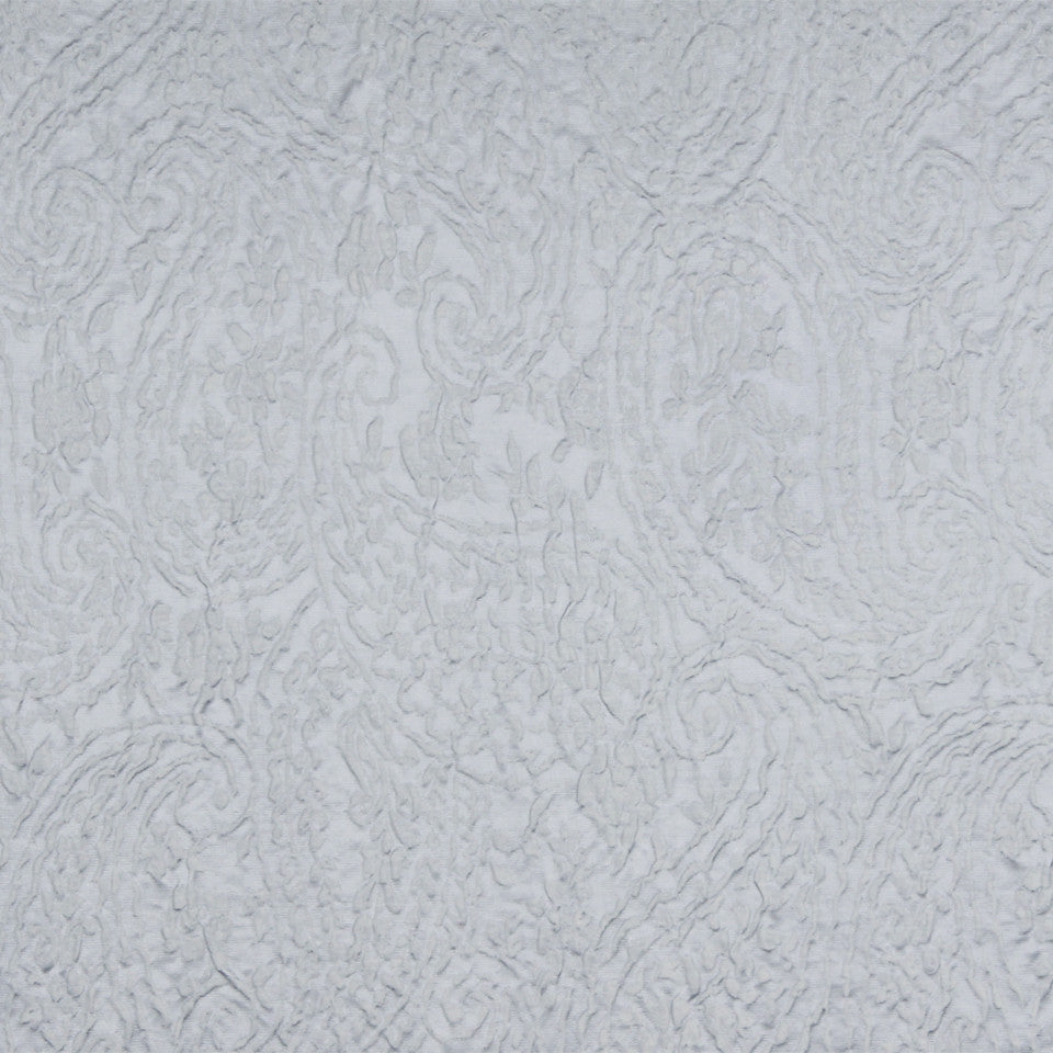 MOONSTONE Camile Paisley Fabric - Moonstone