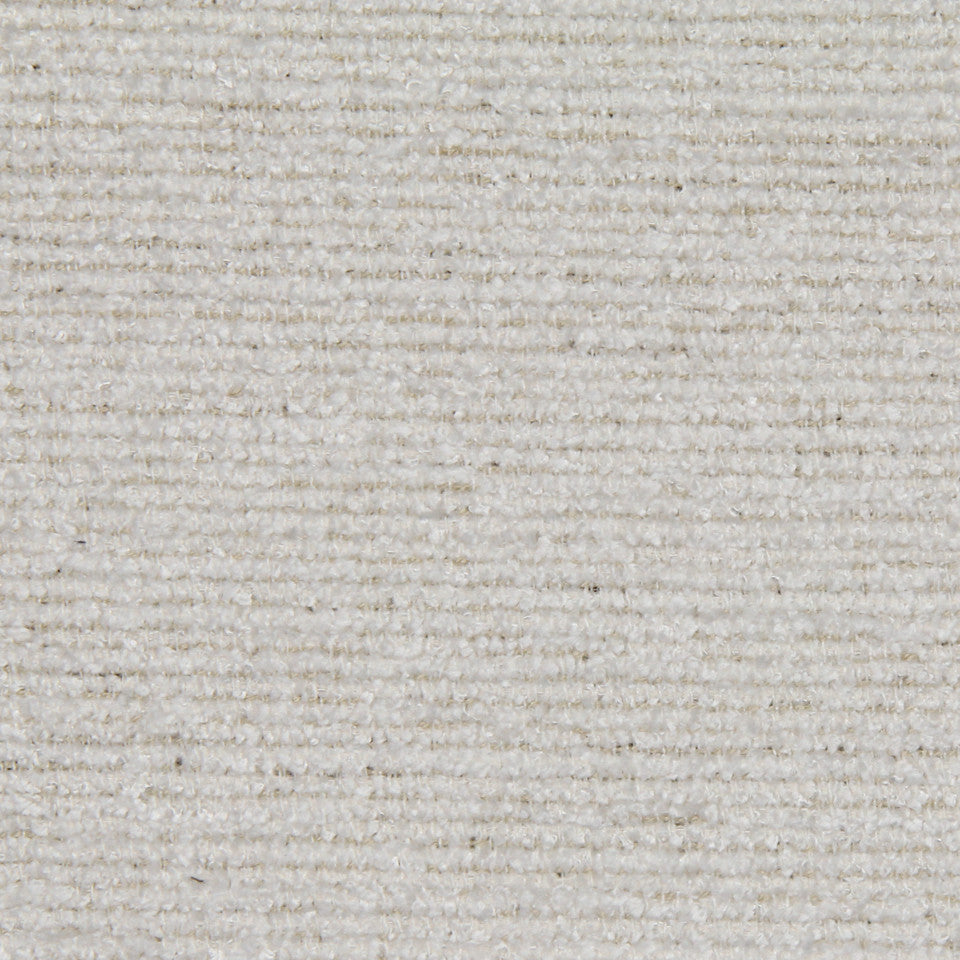 PLUSH CHENILLE SOLIDS Arches Fabric - White
