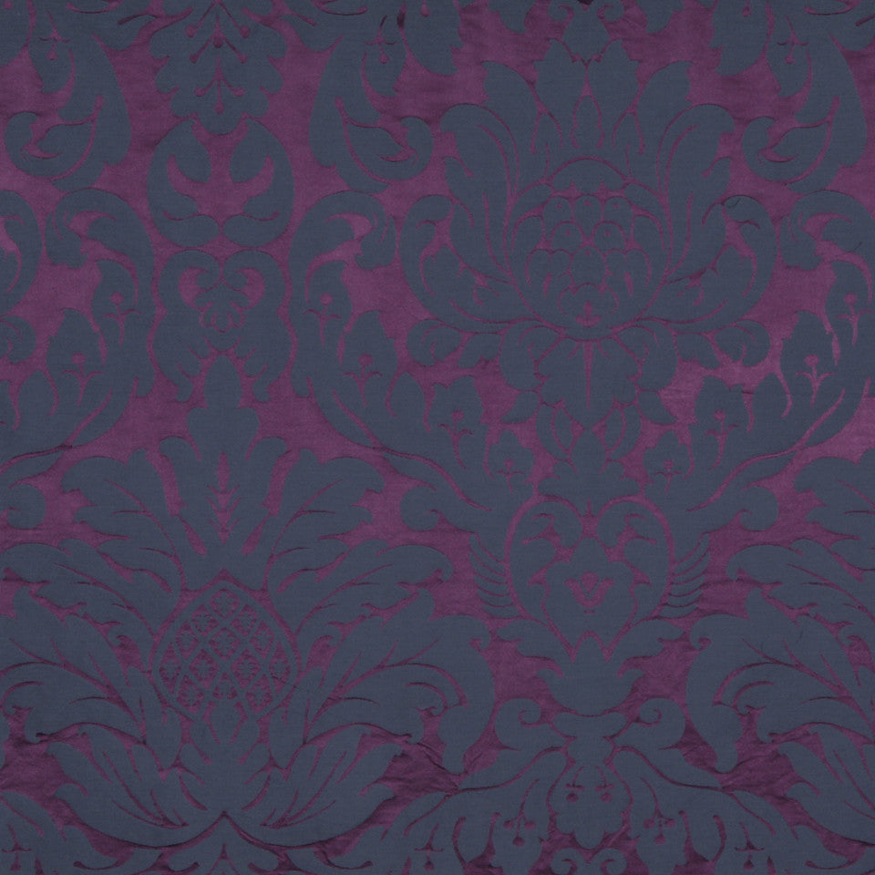 MODERN SILK I Savannah Belle Fabric - Purple