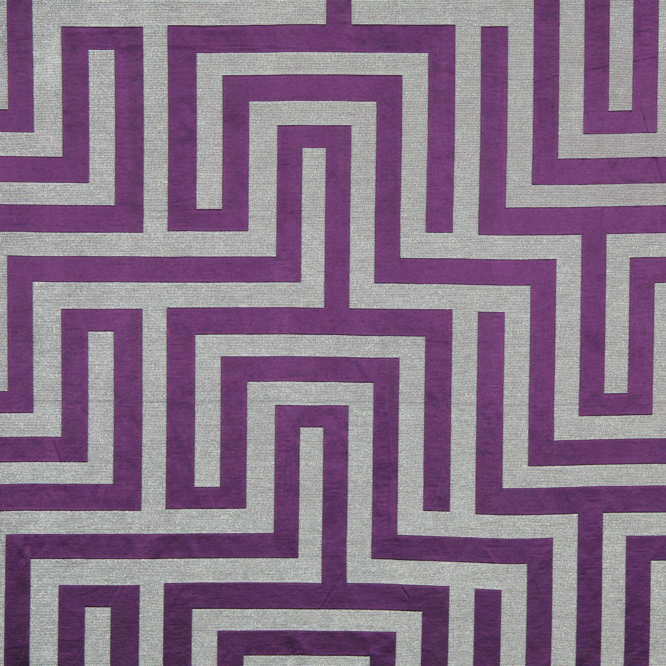 MODERN SILK I Olympus Fabric - Purple