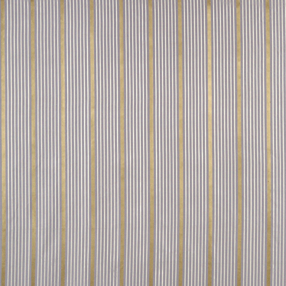 MODERN SILK I Kelly Stripe Fabric - Violet