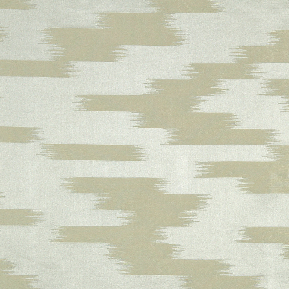 MODERN SILK II Stills Stripe Fabric - Silver