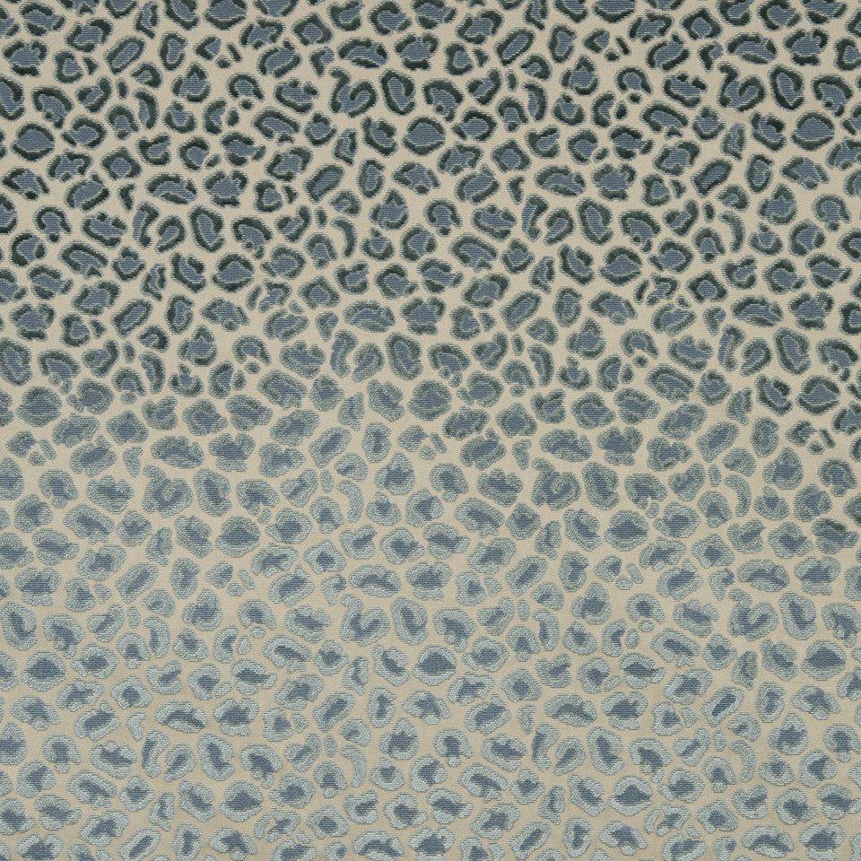 MOONSTONE Cheetah Velvet Fabric - Moonstone