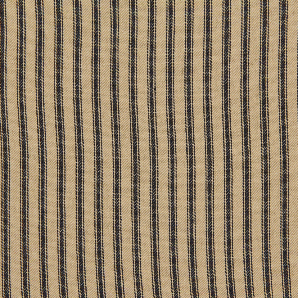 TICKING STRIPES Cottage Stripe Fabric - Prussian