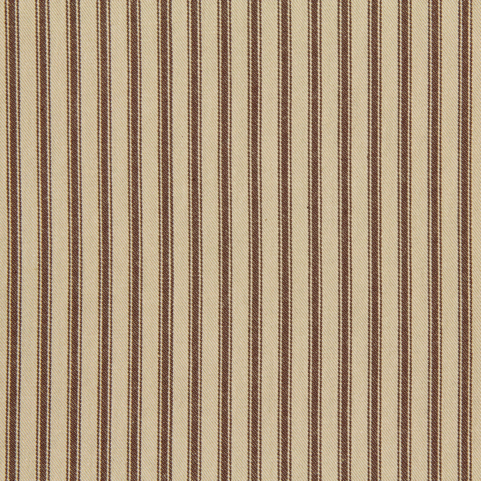 TICKING STRIPES Cottage Stripe Fabric - Terrain