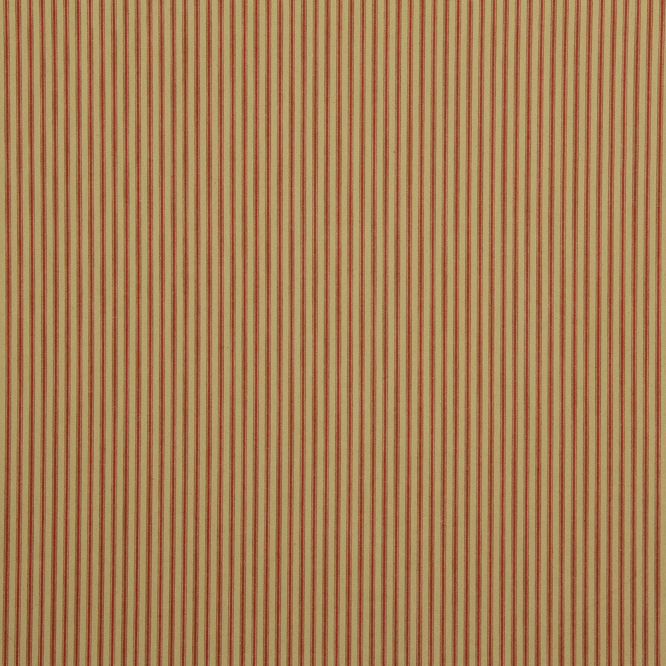 TICKING STRIPES Cottage Stripe Fabric - Cinnamon