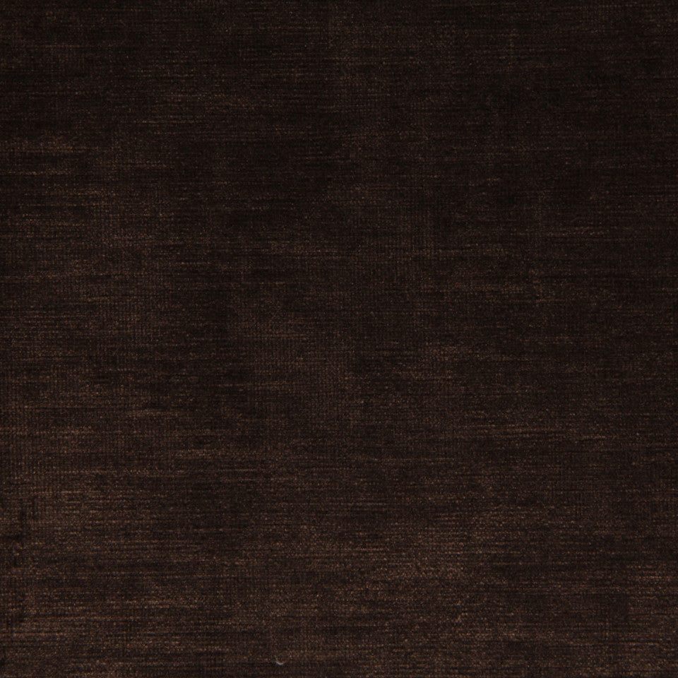 VELVET LUXE Savoy Fabric - Walnut
