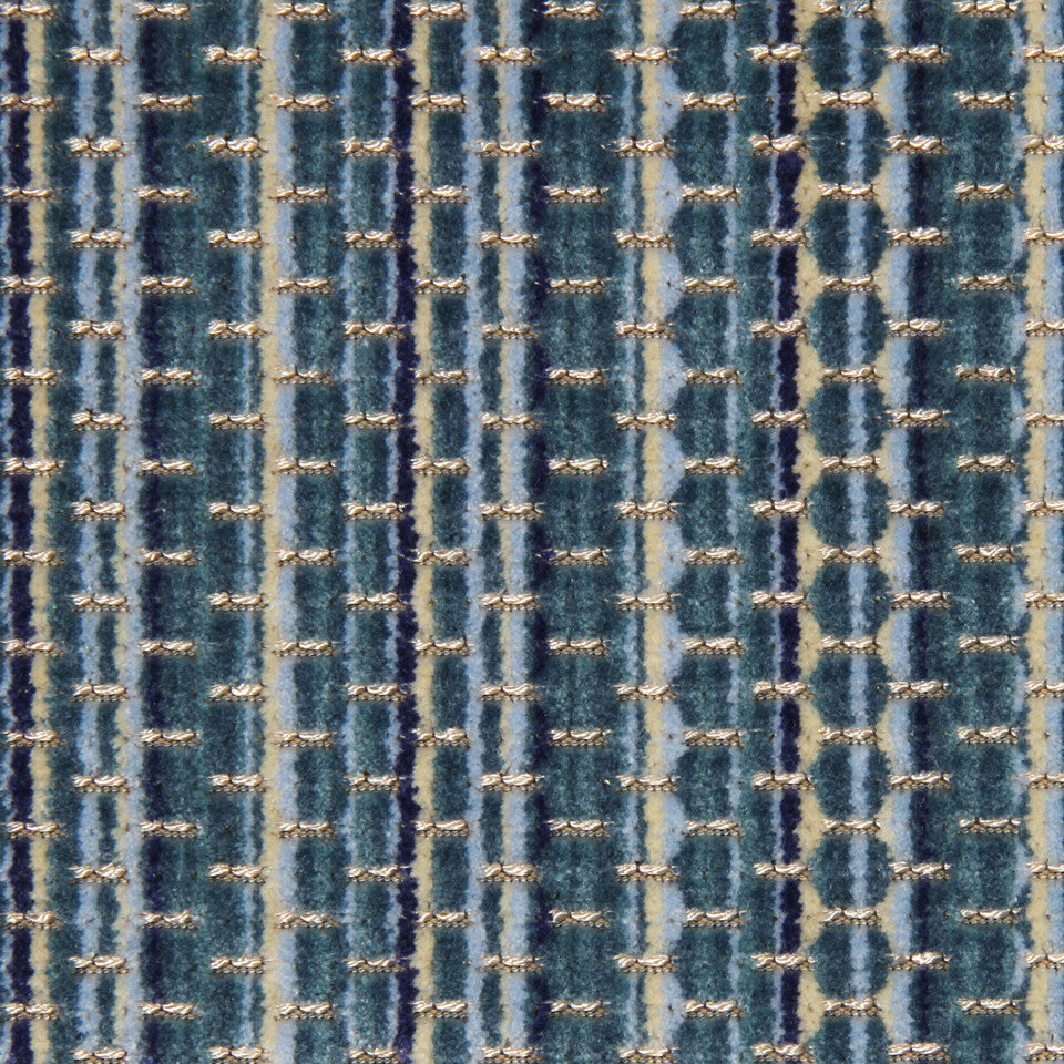 MOONSTONE Davis Stripe Fabric - Moonstone