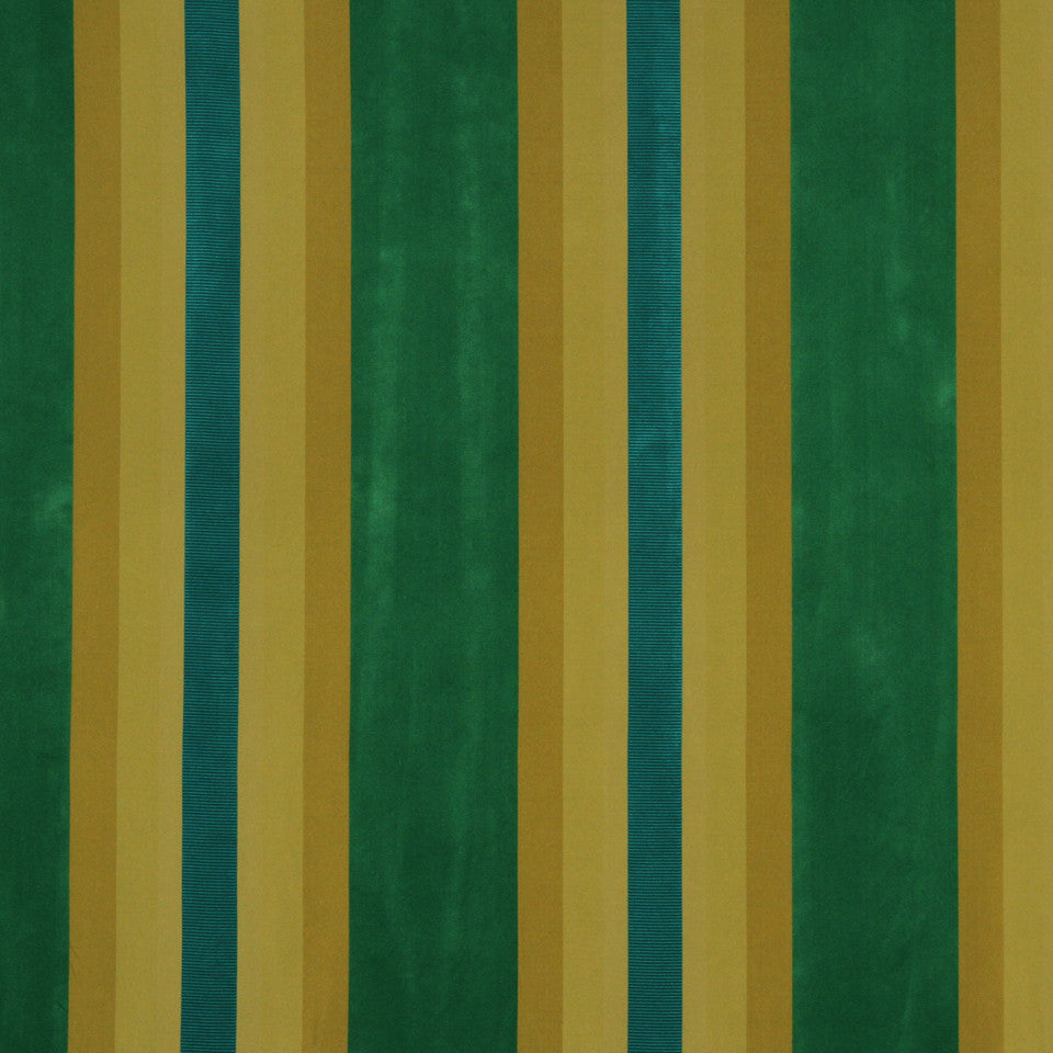 MODERN SILK I Valle Maggia Fabric - Emerald