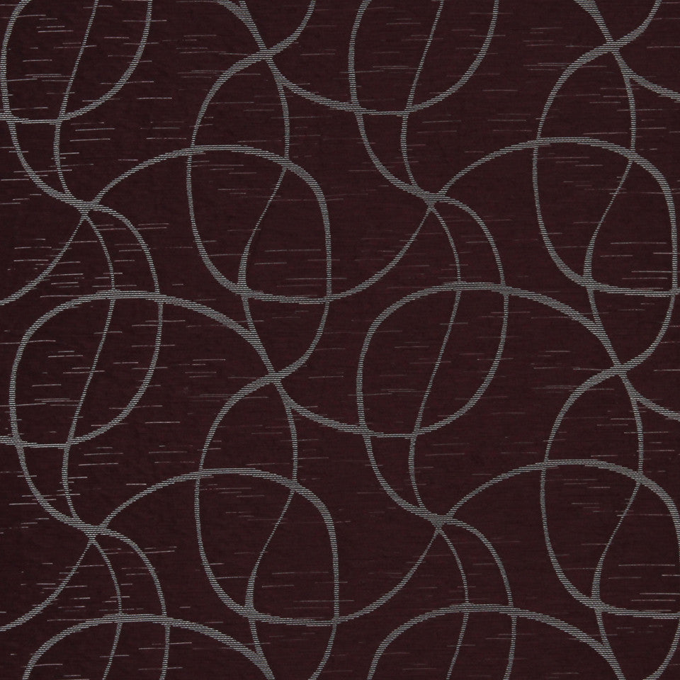 MULTI PURPOSE ECLECTIC MULTI-USE FABRICS Weaving Loops Fabric - Garnet