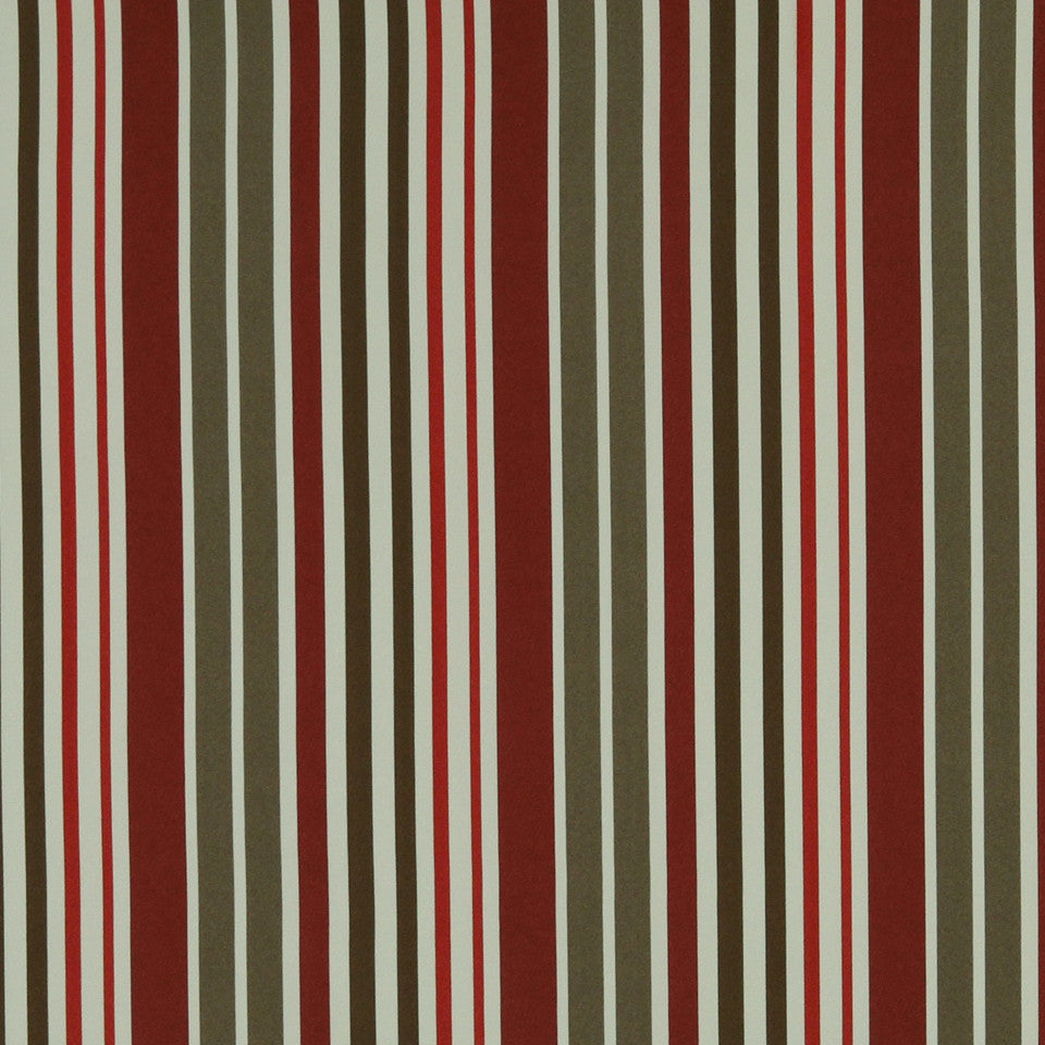MULTI PURPOSE ECLECTIC MULTI-USE FABRICS Vibrant Stripe Fabric - Cranberry
