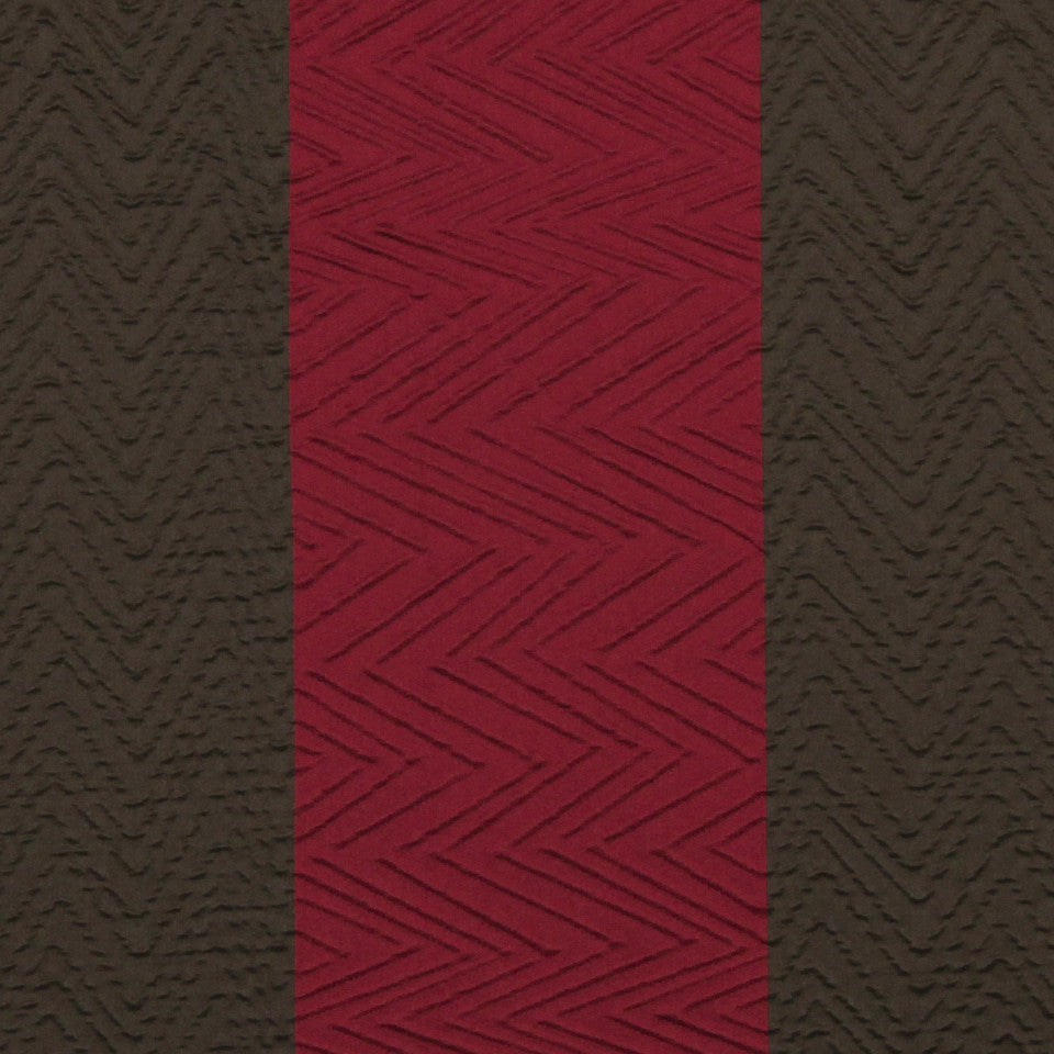 MULTI PURPOSE ECLECTIC MULTI-USE FABRICS Ziggy Pop Fabric - Cranberry
