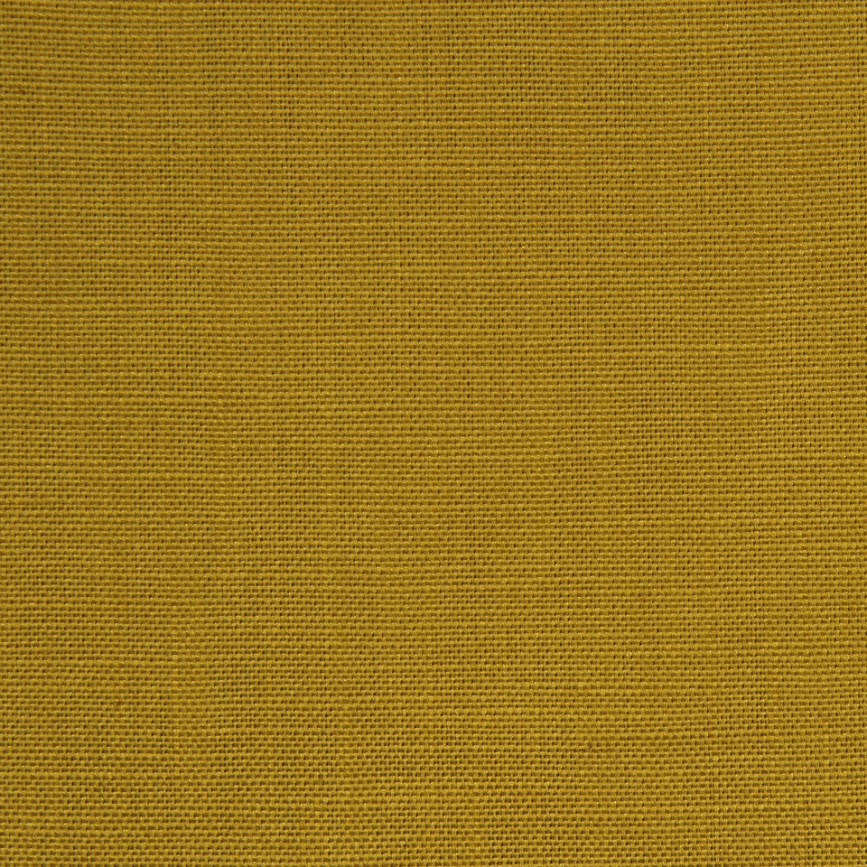 MULTI PURPOSE ECLECTIC MULTI-USE FABRICS Linen Image Fabric - Mustard
