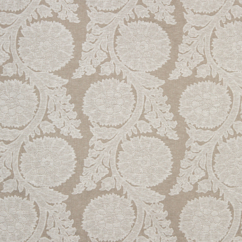 Decorative Drapery Cool Colors Glamis Fabric - Natural