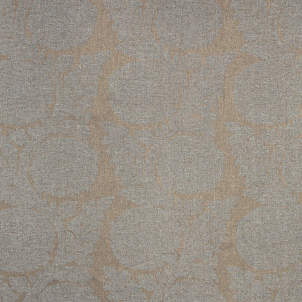 Decorative Drapery Cool Colors Glamis Fabric - Nile