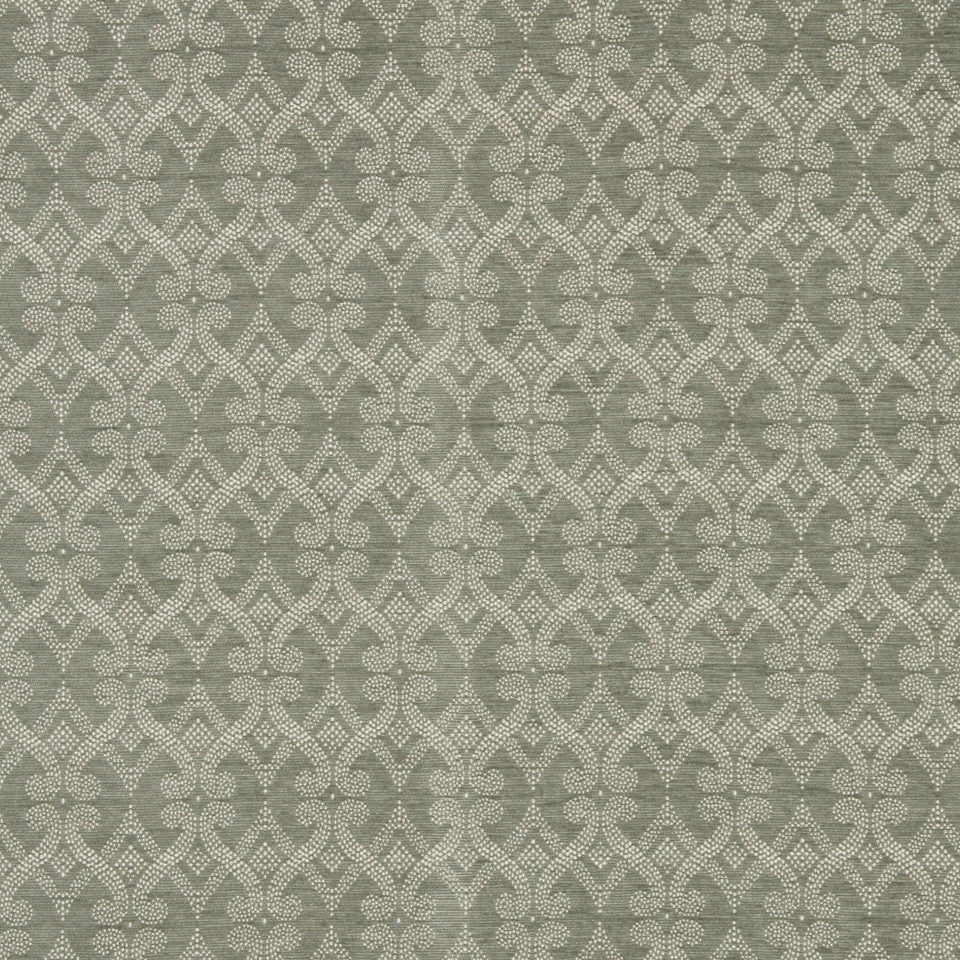 SILVER Fenerty Fabric - Silver